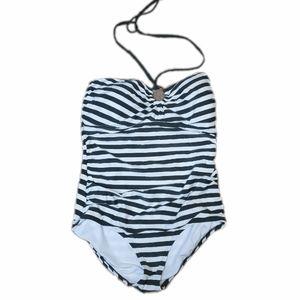 Michael Kors Striped Swimsuit